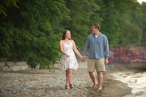 Dennis Felber Photography-Lake Michigan Engagement-08