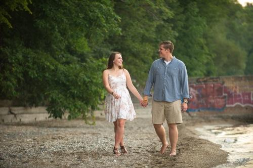 Dennis Felber Photography-Lake Michigan Engagement-08