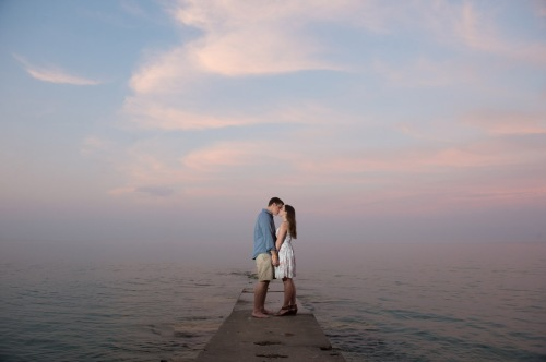 Dennis Felber Photography-Lake Michigan Engagement-14