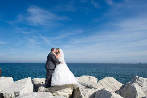 Dennis Felber Photography-Pier Wisconsin Wedding- 18