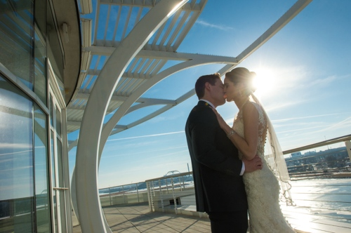 Dennis Felber Photography-Pier Wisconsin Discovery World Wedding-09