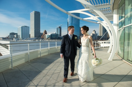 Dennis Felber Photography-Pier Wisconsin Discovery World Wedding-10