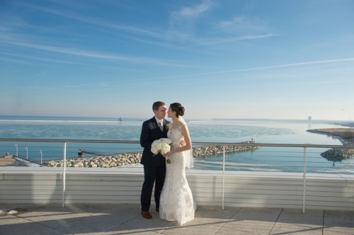 Dennis Felber Photography-Pier Wisconsin Discovery World Wedding-11