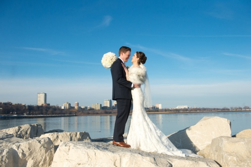 Dennis Felber Photography-Pier Wisconsin Discovery World Wedding-13