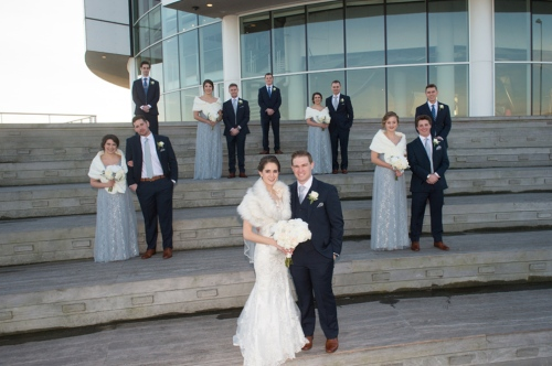 Dennis Felber Photography-Pier Wisconsin Discovery World Wedding-17