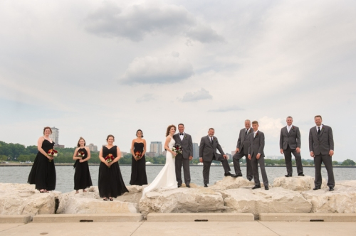 Dennis Felber Photography-Harley Davidson Museum Wedding Chrome-15