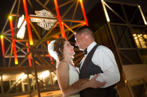 Dennis Felber Photography-Harley Davidson Museum Wedding Chrome-67