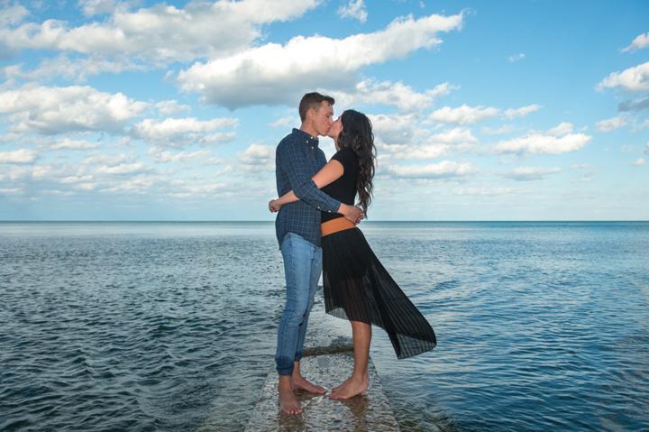Dennis Felber Photography-Lakefront Engagement Session-07