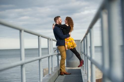 Dennis Felber Photography- Lakefront Engagement Session-33