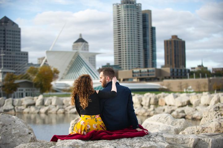 Dennis Felber Photography- Lakefront Engagement Session-34